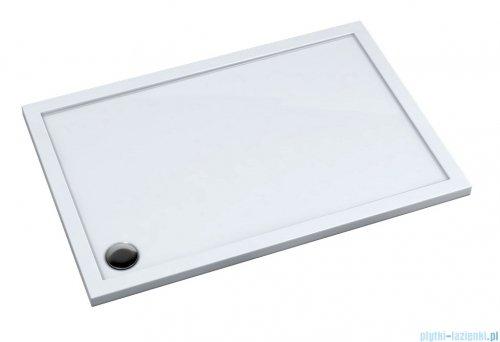 Schedpol Corrina New brodzik prostokątny z SafeMase 120x80x4cm 3.4338