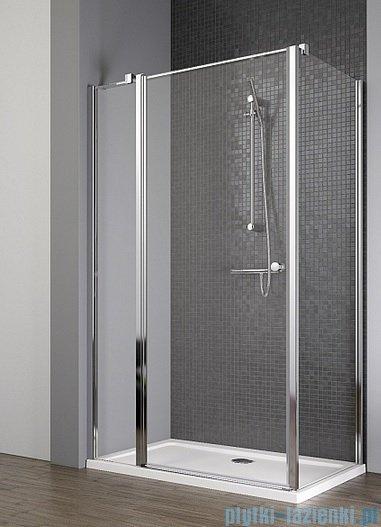 Radaway Eos II KDJ kabina prysznicowa 90x90 lewa szkło przejrzyste + brodzik Delos C + syfon
