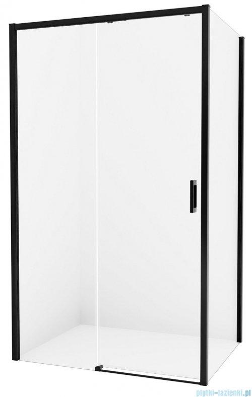 New Trendy Prime Black kabina prostokątna 150x80x200 cm lewa przejrzyste D-0326A/D-0128B