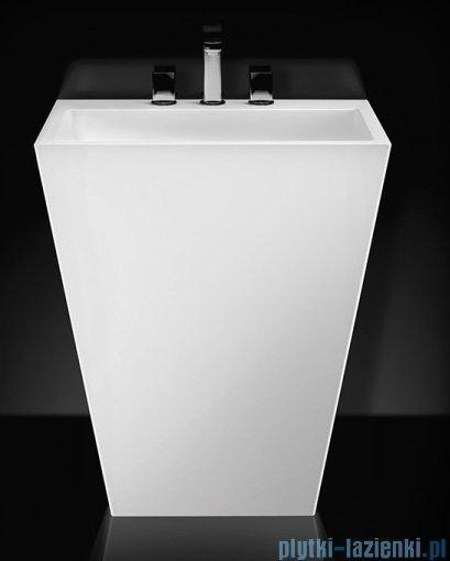 Marmorin Tebe 700 umywalka stojąca z 3 otworami na baterie biała 70x50 P530070020013