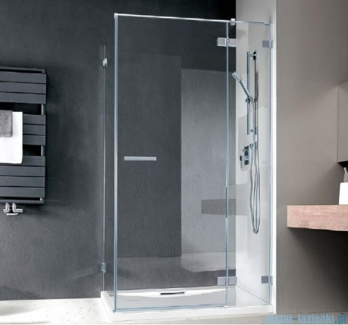 Radaway Euphoria KDJ Kabina prysznicowa 100x90 prawa szkło przejrzyste + brodzik Argos D + syfon