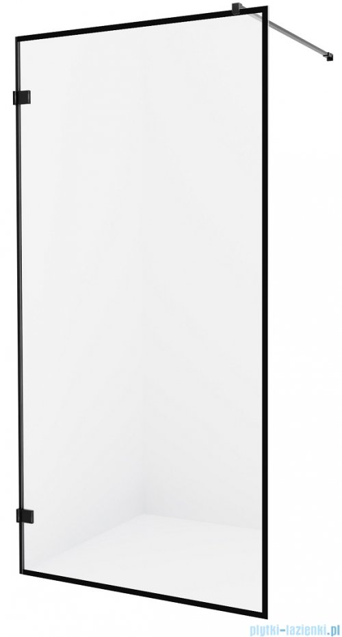 New Trendy Avexa Black kabina Walk-In 70x200 cm przejrzyste EXK-2038