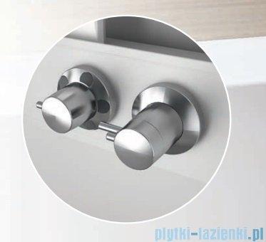 Novellini Glax 3 standard kabina prysznicowa 120x80 prawa srebrny GL32P120DT-1B