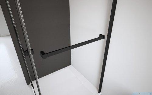 Radaway Nes Black Kdj I kabina 80x90cm lewa szkło przejrzyste wieszak na ręcznik