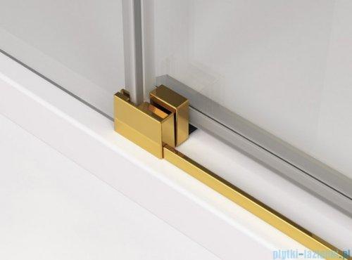 SanSwiss Cadura Gold Line drzwi przesuwne 120cm jednoskrzydłowe prawe z polem stałym CAE2D1201207