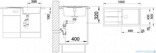 Blanco Metra XL 6 S Zlewozmywak Silgranit PuraDur kolor: kawowy  z kor. aut. 515287