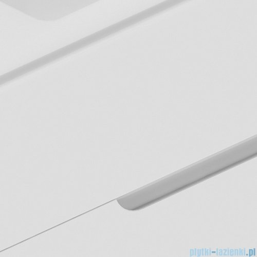New Trendy Frea szafka wisząca podumywalkowa 80 cm biały połysk ML-8082