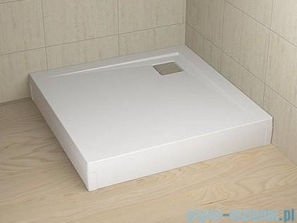 Radaway Obudowa do brodzika Argos 90 aluminium biała 001-510084004