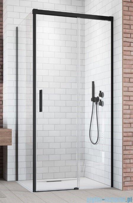 Radaway Idea Black Kdj drzwi 130cm prawe szkło przejrzyste 387043-54-01R