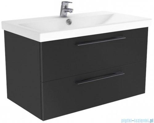 New Trendy Notti szafka umywalkowa 90 cm antracyt połysk ML-8087
