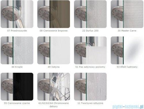 SanSwiss Pur PU31P Drzwi prawe wymiary specjalne do 200cm satyna PU31PDSM41049