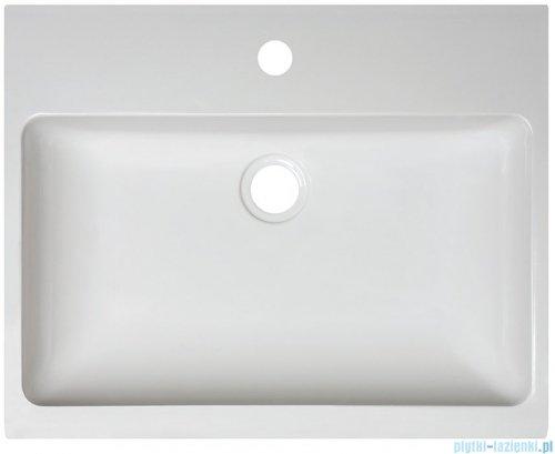 Sanplast Free Mineral umywalka prostokątna nablatowa z otworem Unbo-M/FREE 50x40x8 cm 640-280-1100-01-000