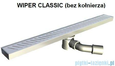 Wiper Odpływ liniowy Classic Pure 70cm bez kołnierza mat PU700MCS100