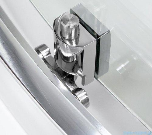 New Trendy New Varia kabina półokrągła 80x80x165 cm przejrzysta K-0493