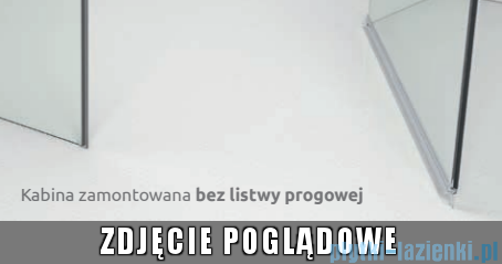 Radaway Torrenta DWJ drzwi wnękowe 100 prawe szkło przejrzyste bez progu