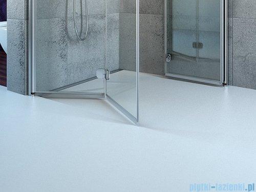 Radaway Euphoria PDD Kabina prysznicowa 80 część lewa szkło przejrzyste bez listwy progowej