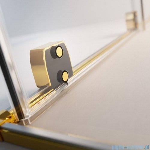 Radaway Furo Gold Walk-in kabina 140x200cm prawa szkło przejrzyste 10106738-09-01R/10110694-01-01