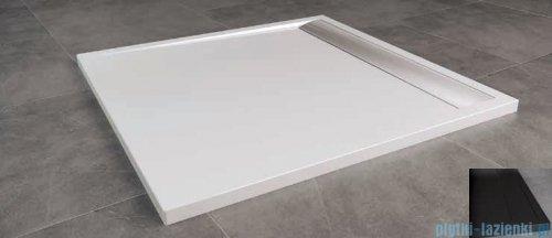 SanSwiss Ila WIQ Brodzik kwadratowy 100x100cm kolor czarny/czarny WIQ10006154