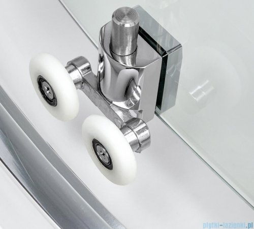 New Trendy New Varia kabina półokrągła 90x90x165 cm przejrzysta K-0497