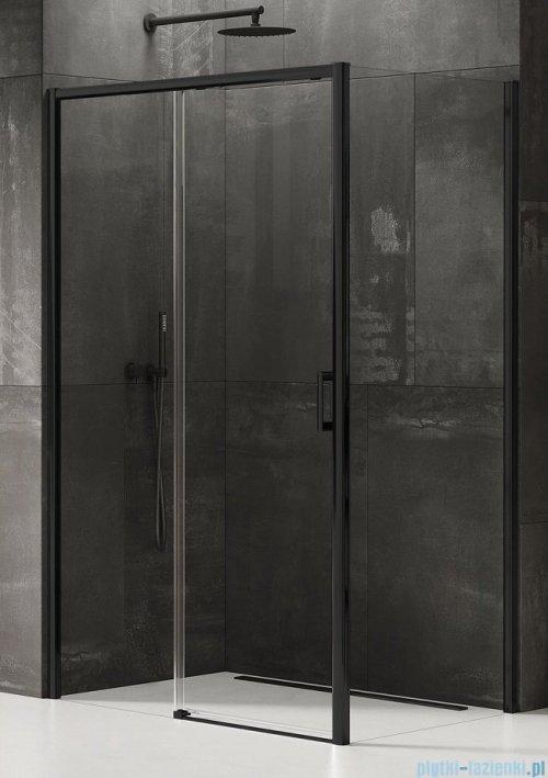 New Trendy Prime Black kabina kwadratowa 100x100x200 cm lewa przejrzyste D-0316A/D-0130B