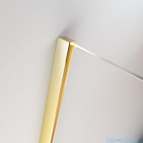 Radaway Furo Gold PND II parawan nawannowy 100cm lewy szkło przejrzyste 10109538-09-01L/10112494-01-01