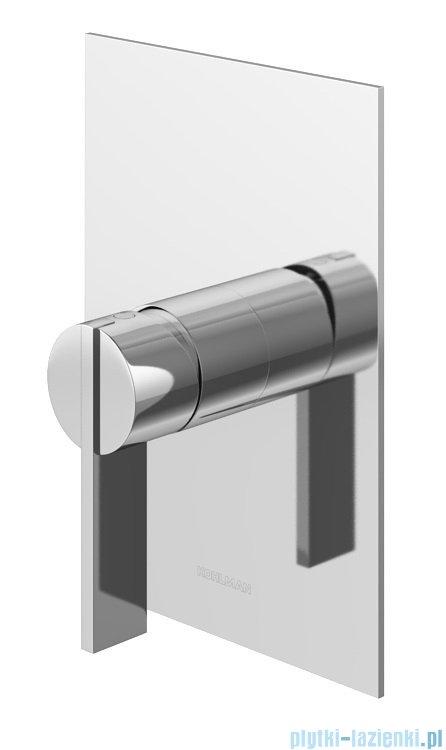 Kohlman Dexame zestaw prysznicowy chrom bateria