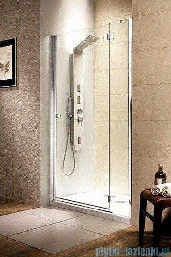 Radaway Fuenta DWJ Drzwi wnękowe 80 prawe szkło brązowe
