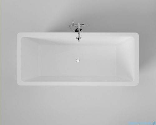 ScandiBath Hel wanna wolnostojąca 150x80cm + syfon wanna stojąca