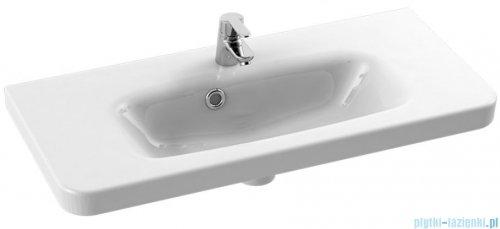 New Trendy umywalka ceramiczna z otworem na baterię 80 cm U-0087