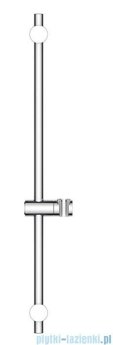 Oltens Saxan EasyClick Alling 60 zestaw prysznicowy chrom/biały 36000110
