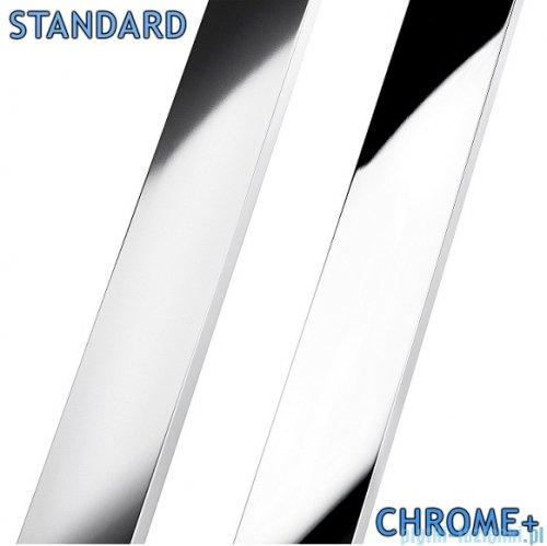 Radaway Euphoria KDJ Kabina prysznicowa 100x90 lewa szkło przejrzyste profile