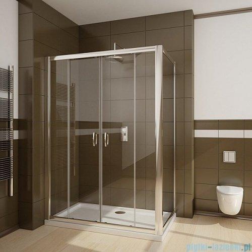 Radaway Premium Plus DWD+S kabina prysznicowa 180x100cm szkło brązowe