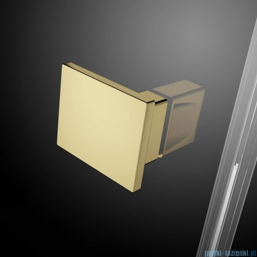Radaway Essenza Pro Gold Kdj kabina 100x110cm lewa przejrzyste 10097100-09-01L/10098110-01-01