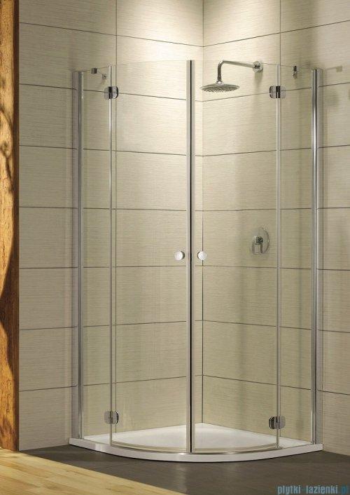 Torrenta PDD Radaway kabina półokrągła 90x90 szkło grafitowe