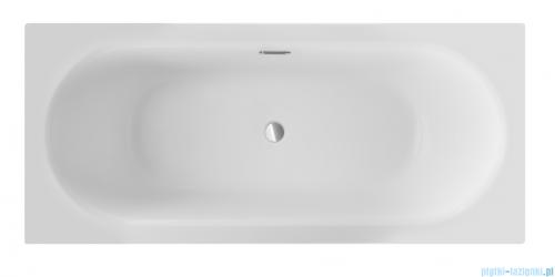 Besco Vitae Slim + 180x80cm wanna prostokątna + syfon #WAV-180-S+