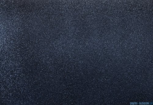 Besco Assos Glam srebrna umywalka nablatowa 40x50x15cm #UMD-A-NBG