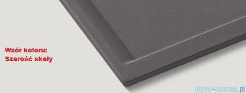 Blanco Metra 6 S Compact Zlewozmywak Silgranit PuraDur kolor: szarość skały  z kor. aut. 518876