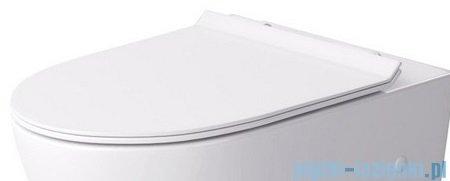 Massi Decos Slim Duro deska WC Slim wolnoopadająca łatwowypinalna biała
