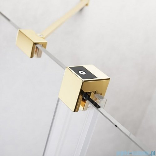 Radaway Furo Gold Walk-in kabina 150x200cm lewa szkło przejrzyste 10106788-09-01L/10110744-01-01