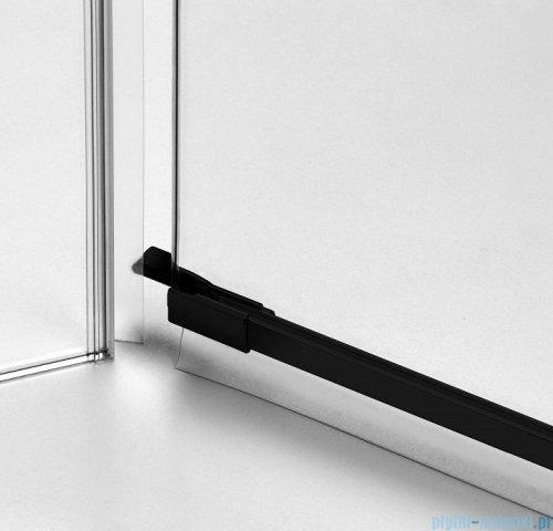 New Trendy Avexa Black kabina kwadratowa 90x110x200 cm przejrzyste EXK-1840