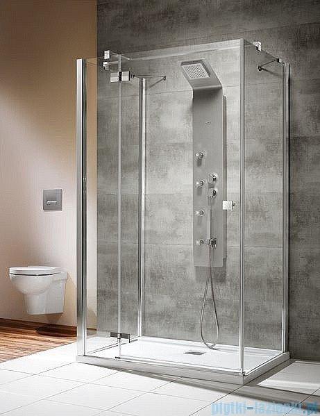 Radaway Kabina prysznicowa Almatea KDJ+S 80x100x80 lewa szkło przejrzyste