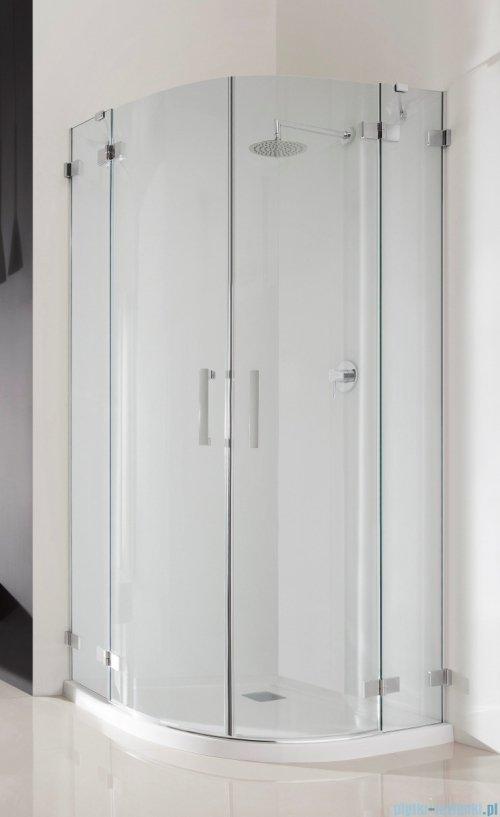 Radaway Euphoria PDD Kabina prysznicowa 90x90 szkło przejrzyste + brodzik Delos A + syfon
