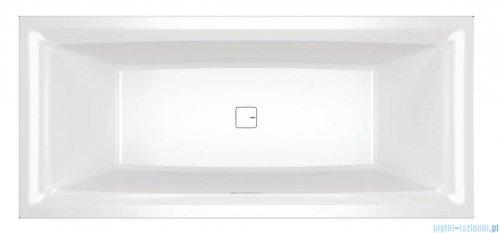 Riho Still Square wanna z zagłówkiem i oświetleniem prawa 180x80cm + syfon BR0100500K00130