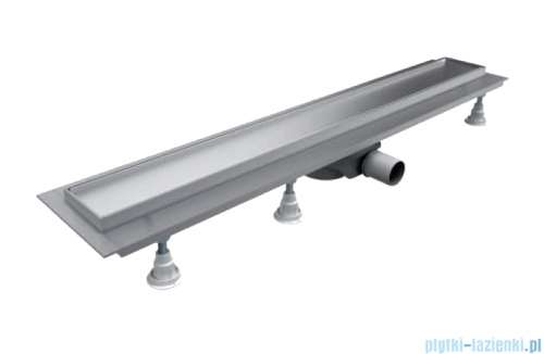 Schedpol Base-Low odpływ liniowy z maskownicą Plate 80x8x6,5cm OLP80/ST-LOW