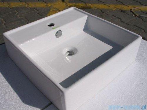 Bathco Tenerife umywalka nablatowa 46x46 cm 0017A