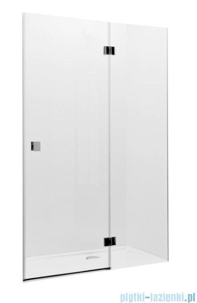 Roca Metropolis drzwi prysznicowe 90cm szkło przejrzyste