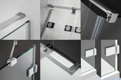 Radaway Euphoria KDJ Kabina prysznicowa 100x110 prawa szkło przejrzyste 383612-01R/383240-01R/383053-01
