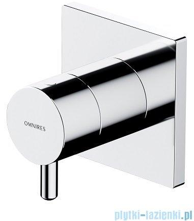 Omnires Y zestaw prysznicowy podtynkowy z dyszami bocznymi chrom SYSY30X1CR