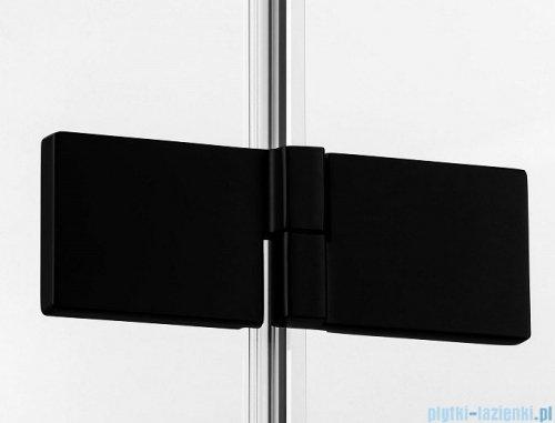 New Trendy Avexa Black kabina kwadratowa 80x80x200 cm przejrzyste EXK-1608