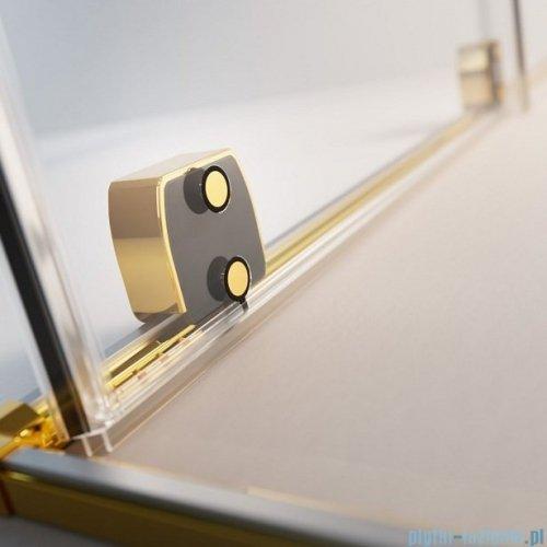 Radaway Furo Gold  Kdj kabina 90x80cm prawa szkło przejrzyste 10104472-09-01R/10110430-01-01/10113080-01-01